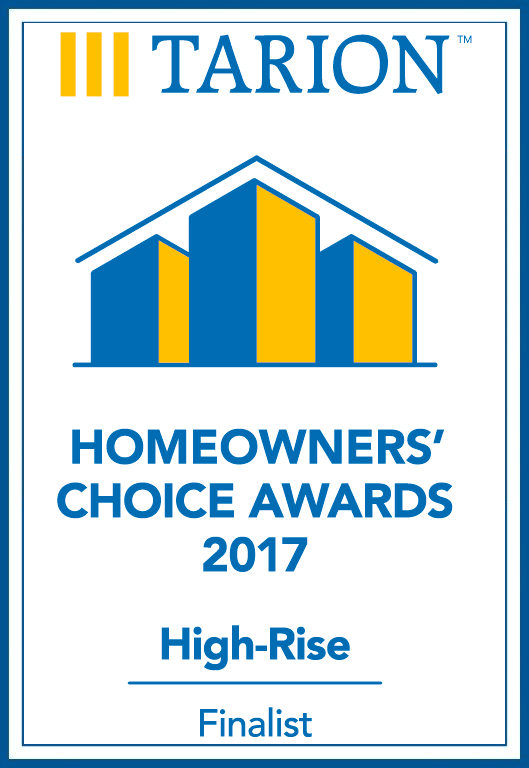 Tarion - Homeowners choice awards
